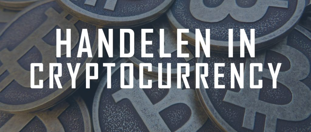 Handelen in cryptocurrency