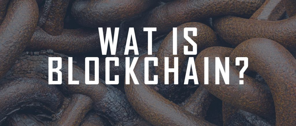 Wat is blockchain?
