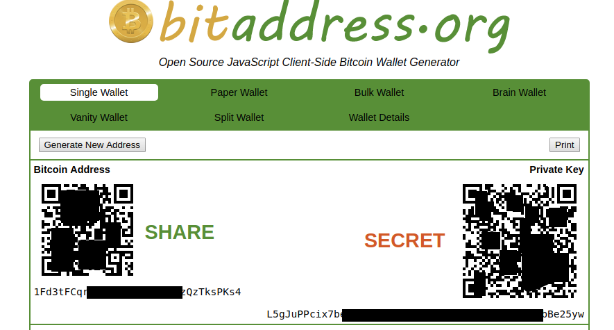 Guide: Making a Bitcoin Paper Wallet - Cryptin eu